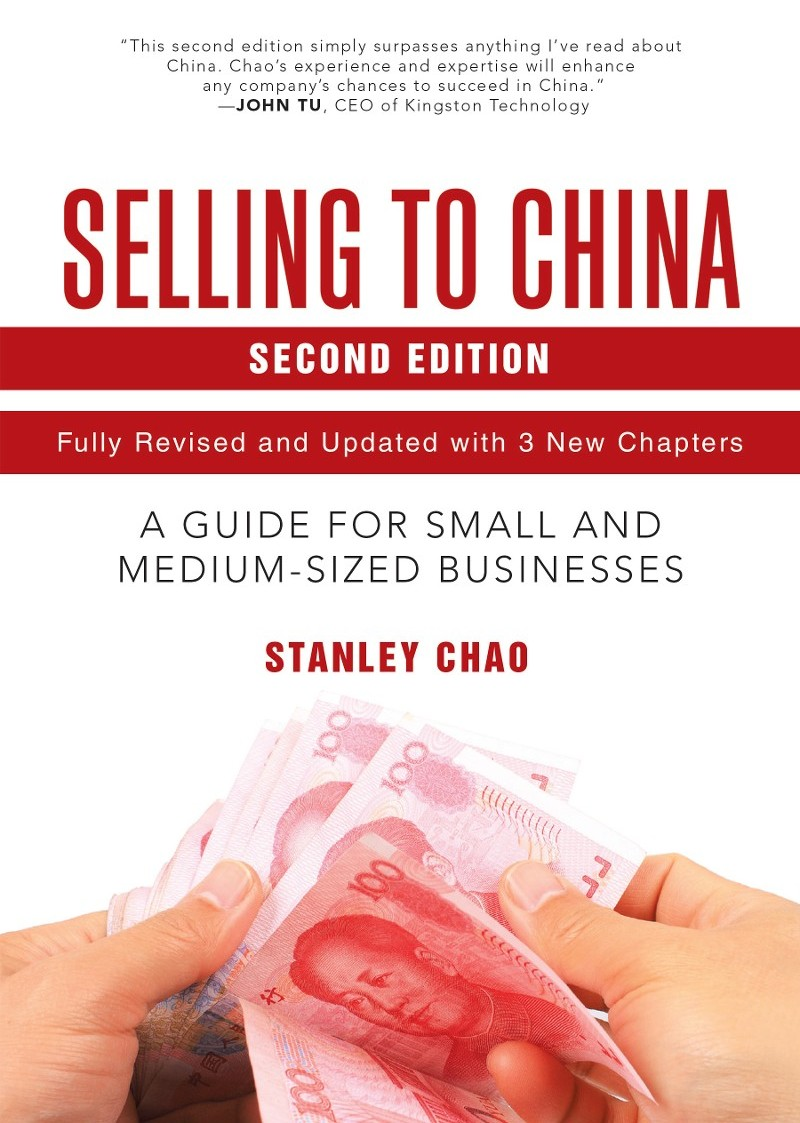 Book Cover - Selling To China
